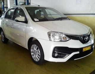 Toyota Etios Taxi Amritsar